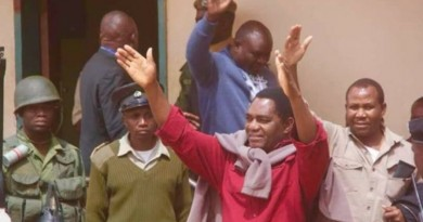 Treason charges dropped against Zambia opposition leader